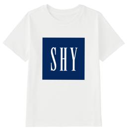SHYロゴTシャツ
