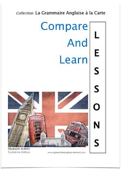 ACHAT GROUPÉ - COMPARE AND LEARN: LESSONS (B2, C1, C2) - LIVRE BROCHÉ - ÉTUDIANTS, ADULTES, ENSEIGNANT