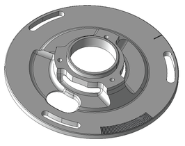 Overrev Grundplatte VESPA - Largeframe PX