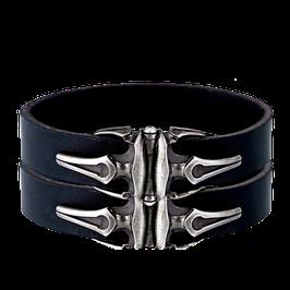 Breites Leder - Armband