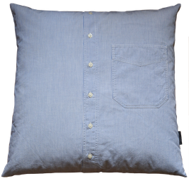 Kissenhülle Streifenhemd Sacha