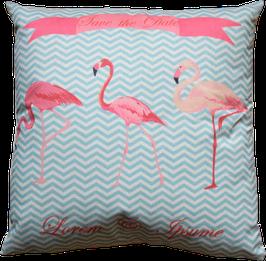 Kissenhülle Flamingo 2