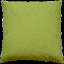 Kissenhülle Uni Hellgrün
