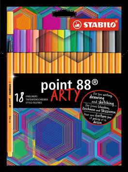 Fineliner STABILO point 88 ARTY