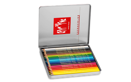 CARAN D'ACHE SUPRACOLOR® Soft Aquarelle, Etui mit 18 oder 12 Farben, wasservermalbar