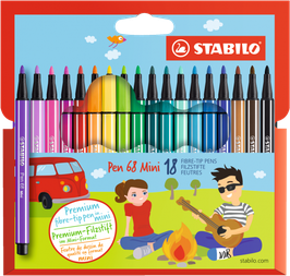 Premium-Filzstift STABILO Pen 68 Mini