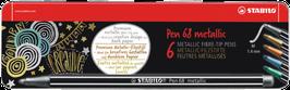 Premium-Filzstift STABILO Pen 68 metallic