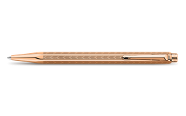 Kugelschreiber ECRIDOR CHEVRON Roségold