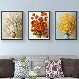 Trio van bloemen - H18142