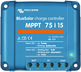 Victron MPPT controller (up to 200/400Wp, 12V/24V)