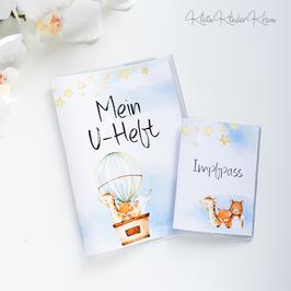 "U-Heft und Impfpass Hülle ""Flieger-Freunde"""