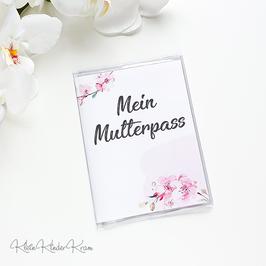 """Mutterpasshülle """"Kirschblüten"""""""