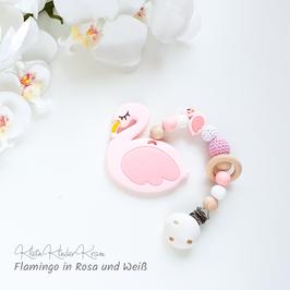 Beißkette - Flamingo
