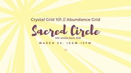 Crystal Grid 101 // Abundance Grid