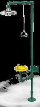GC-111-C Regadera de emergencia mixta galvanizada