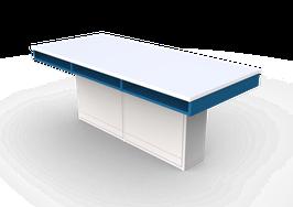 ME LP 300  Mesas para laboratorio cubierta laminado plástico
