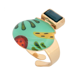 "Tropischer Ring ""BANANE"""