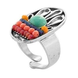 """Ovaler Ring """"TROIKA"""""""