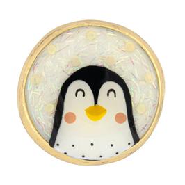 """Pinguin-Ohrhänger mit Fransen """"FRISQUET"""""""