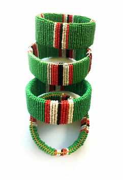 Maasai Stand together • green