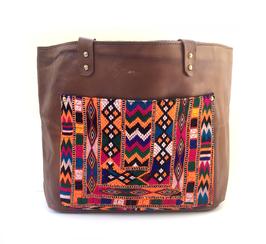 """Leather Tote bag  """"lilina"""""""