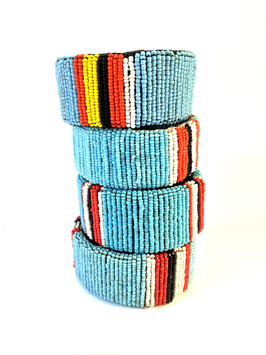 Maasai Stand together •  turquoise