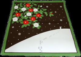Furoshiki Petit Lapin, Camélias et Paysages enneigés