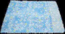 Tenugui Fleurs de sakura sur fond bleu clair