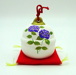 Clochette fleurs d'hortensia (violet)
