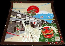 Furoshiki Festival et folklore japonais