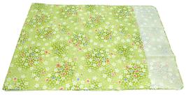 Tenugui Fleurs de sakura sur fond vert clair