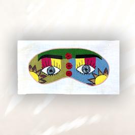 Stickerei #17 von Simin - 10cmx20cm inkl. Stoff 24cmx14cm