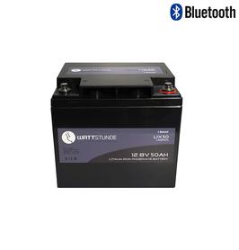 WATTSTUNDE® Lithium 50Ah LiFePO4 Batterie LIX50