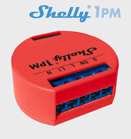 Shelly 1PM WLAN Schalter mit Messfunktion