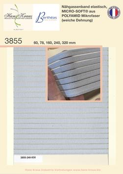 Nähgassenband elastisch, MICRO-SOFT®