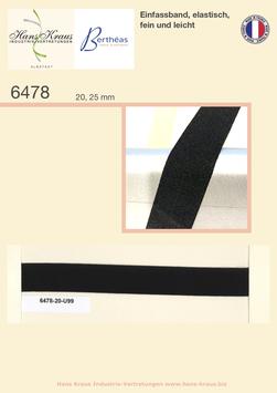 Einfassband, elastisch, fein und leicht