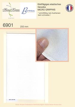 Klettfägiges elastisches Gewebe MICRO GRIPP®S* schnittfähig, kein Ausfransen!