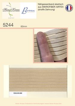 Nähgassenband elastisches aus MIKROFIBER AIRTEX (straffe Dehnung)