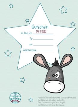Ankerknirps Gutschein 15€