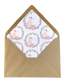 Matching envelop Joyeux Noël