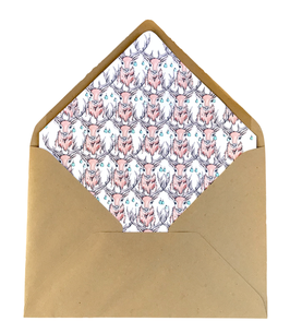 Matching envelop OHHH DEER