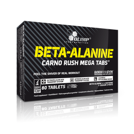 Olimp - Beta-Alanin Carno Rush Mega Tabs, 80 Tabletten