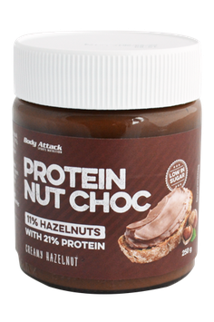 Body Attack Protein Nut Choc - 250g