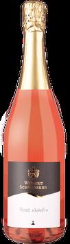 Prickelnder Rosé, alkoholfrei