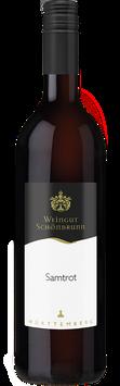 2018 Samtrot - Rotwein lieblich Gutswein