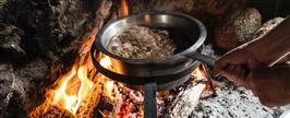 chillfoods feuergeröstete kaffee-perlen hell gemahlen