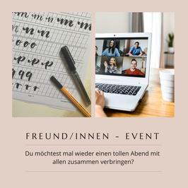 Freund/innen - Event (Online)
