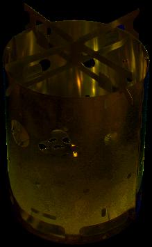 Original Brennerle Hobokocher + 20x4g Esbit + BIC Mini Feuerzeug