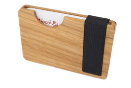 Woodbi Kreditkarten-Etui Phasithee