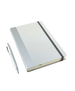 Kompagnon Notizbuch Aluminium